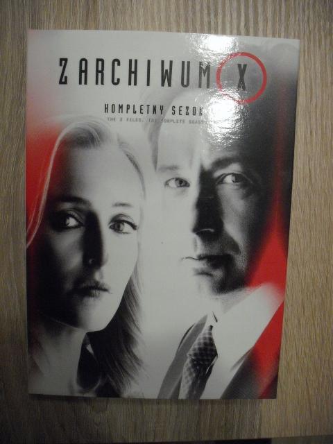 ARCHIWUM X sezon 11 3 DVD