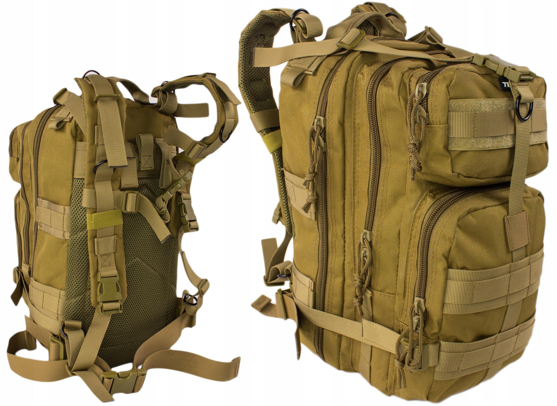 Survivalowy Plecak Assault Pack Texar TXR Coyote
