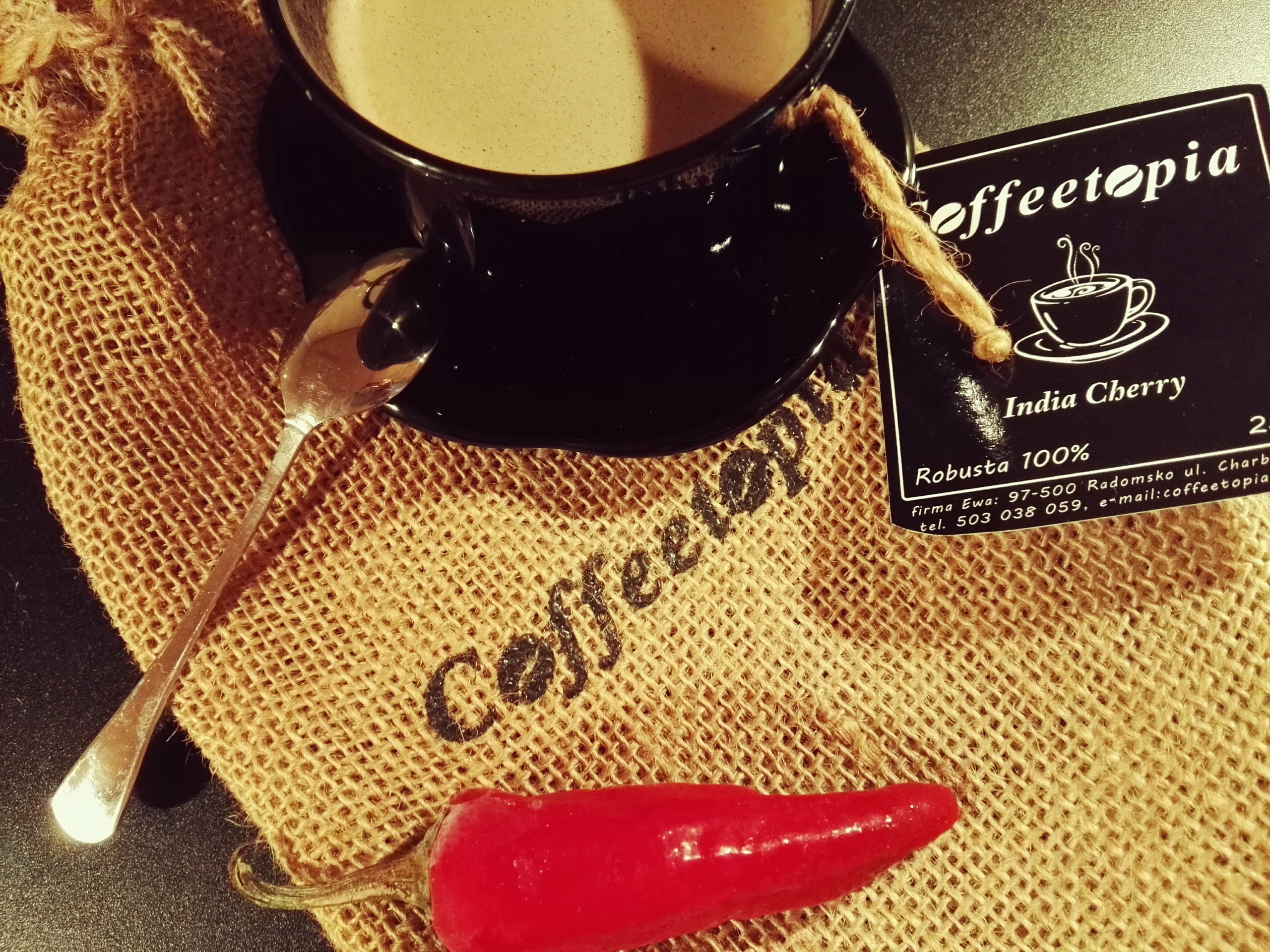 Coffeetopia INDIA CHERRY 0,25kg