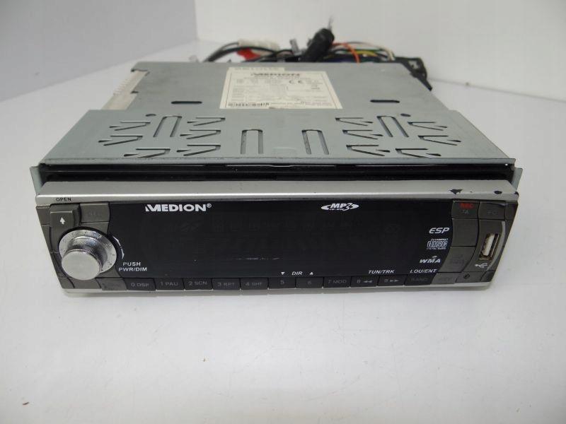 RADIO SAMOCHODOWE MEDION MD42540