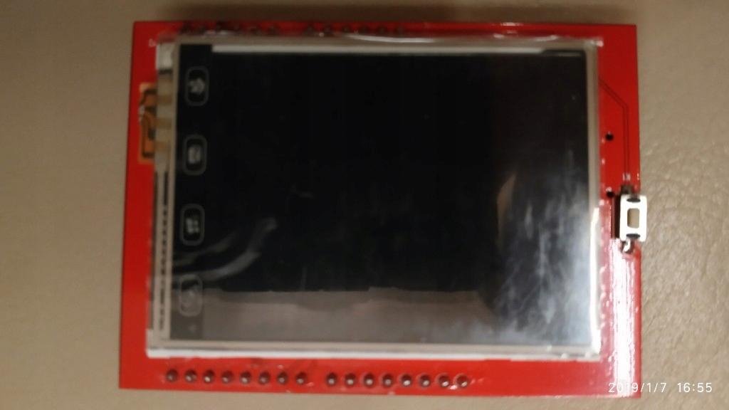 Wyświetlacz TFT LCD 2.4 cala arduino