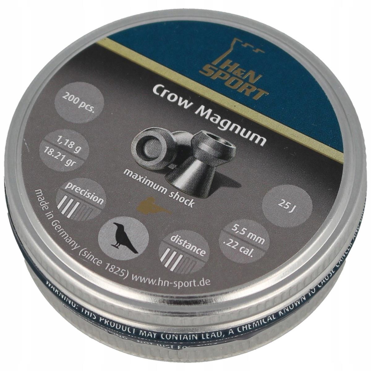 Śrut H&N Crow Magnum 5.5mm 200szt