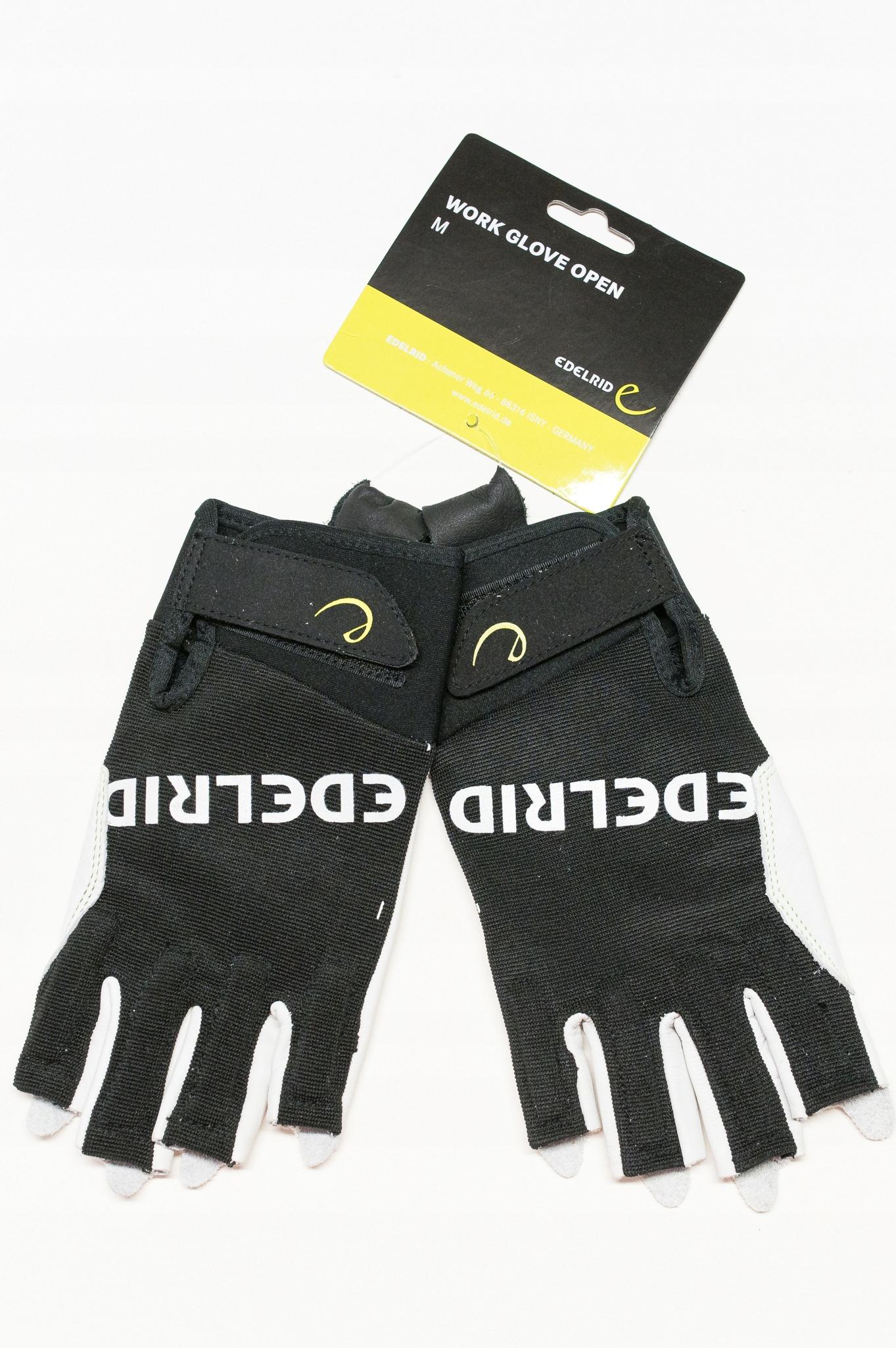 Rękawiczki wspinaczkowe - WORK GLOVE OPEN rozm. M