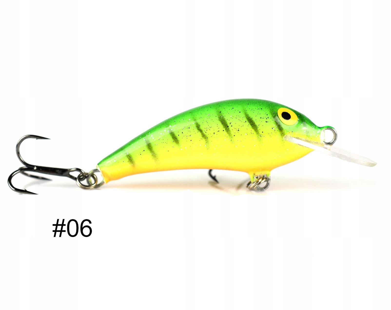 Siek Bączek wobler pływający 4,5cm 2,8g kolor 06
