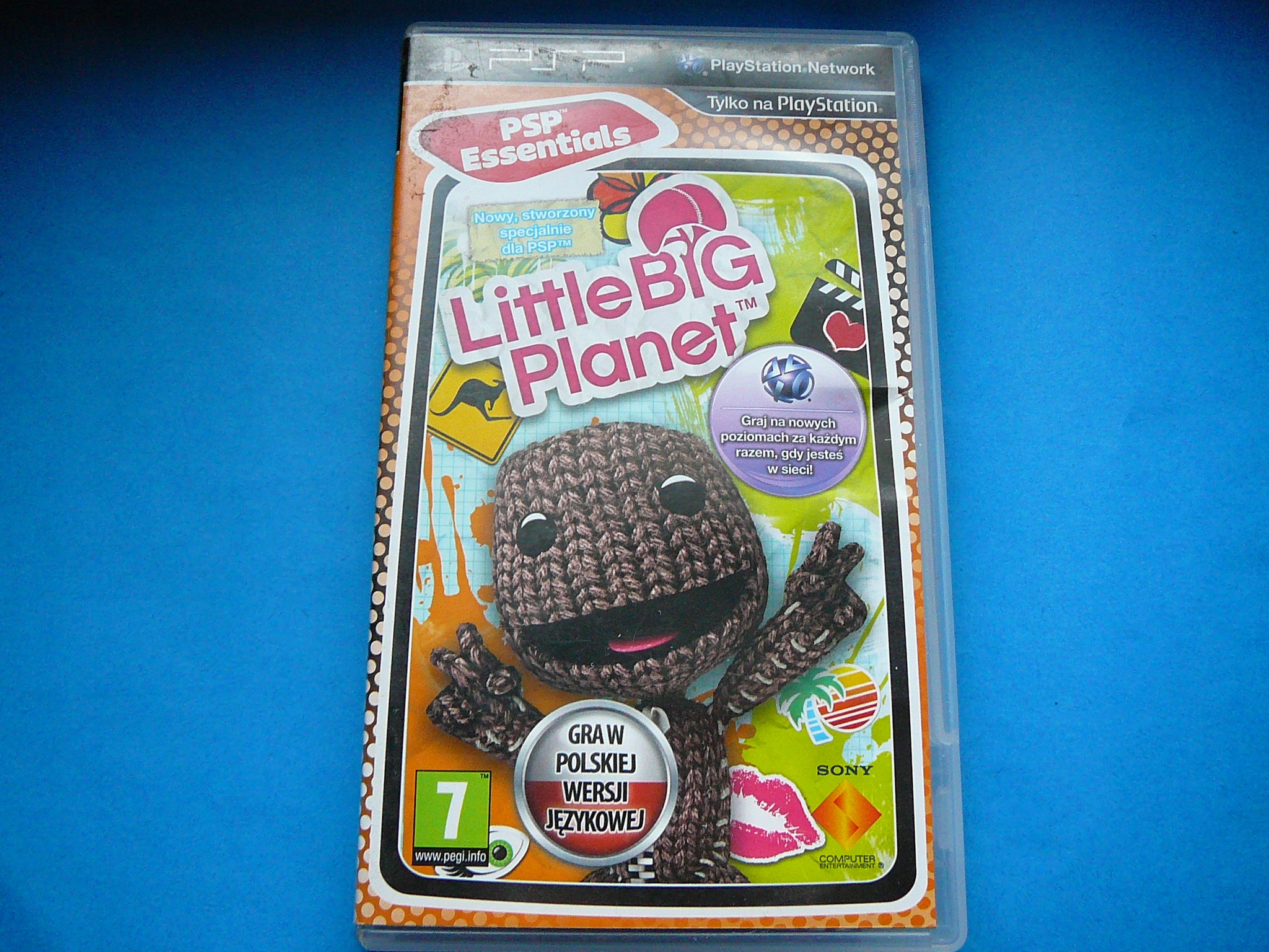LITTLE BIG PLANET PL PSP