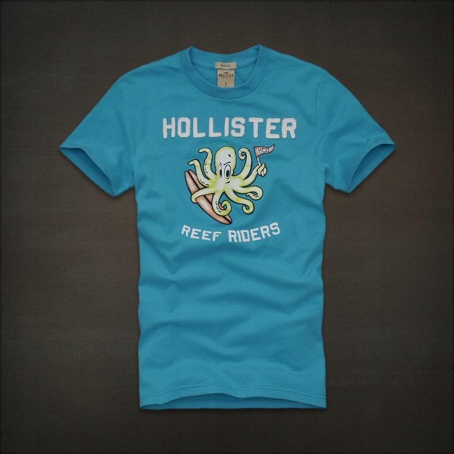 Hollister Abercrombie Koszulka T-shirt L/XL BDB