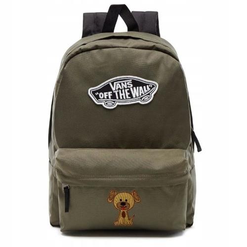 nowy styl życia Najlepiej oficjalne zdjęcia Plecak szkolny VANS Realm Backpack Custom Dog Pies ...