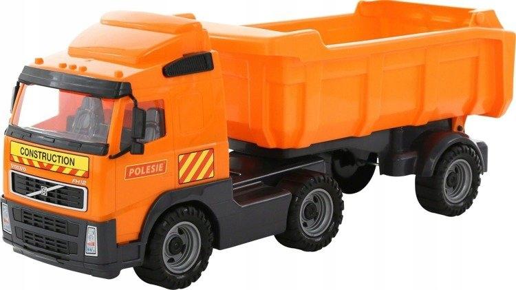 WADER 8749 Samochód-wywrotka Volvo z naczepą