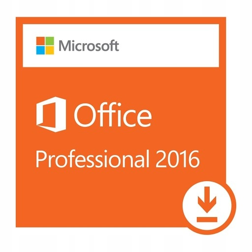 Microsoft Office 2016 Professional FV23% Dom/Firma