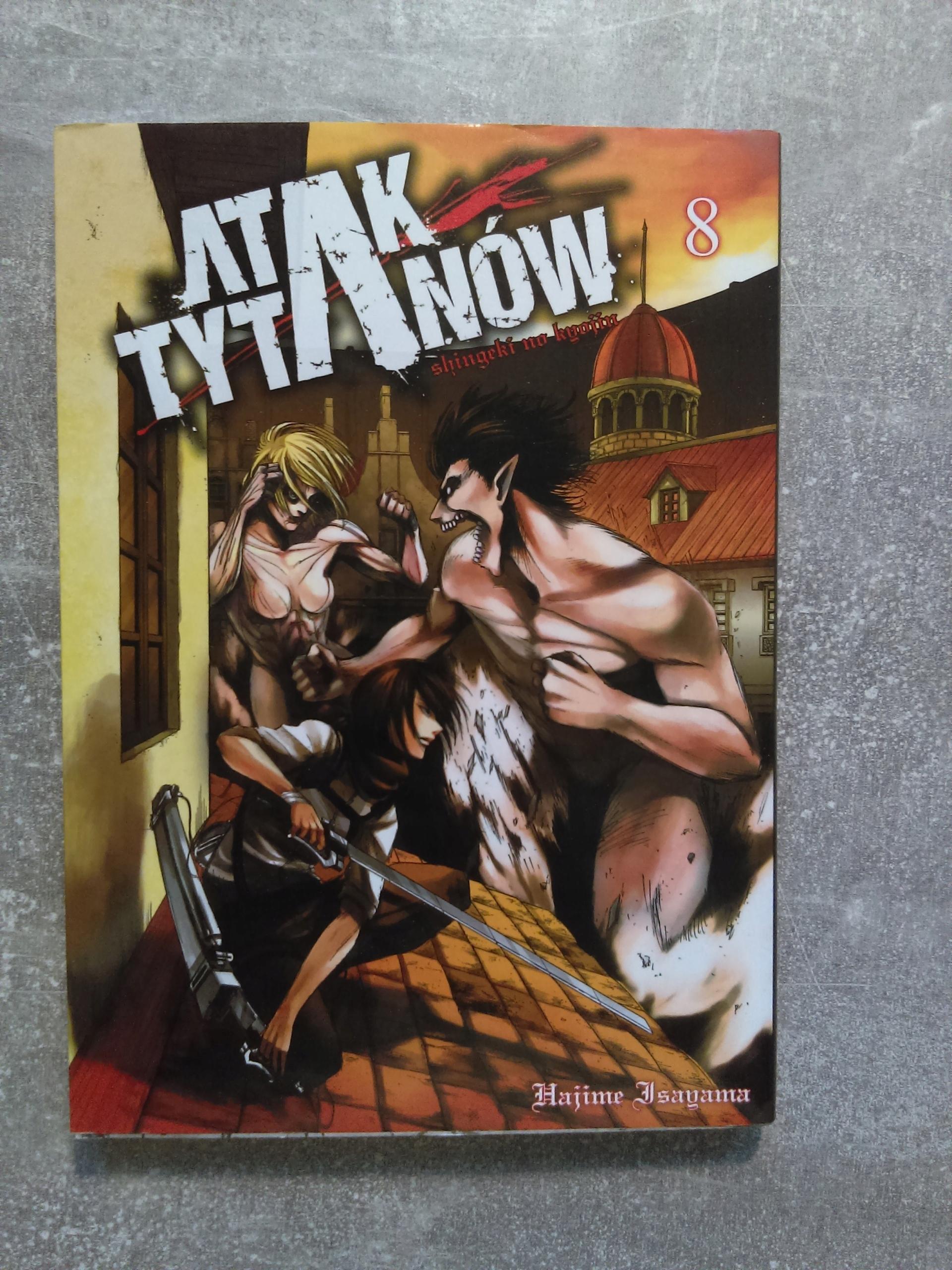 Manga Atak Tytanów tom 8 - Attack On Titan - BDB