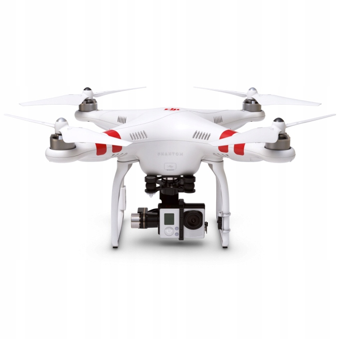 DJI Phantom 2 + GoPro Hero black GIMBAL H3-3D