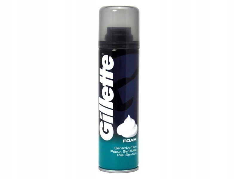 Gillette Sensitive pianka do golenia 200ml