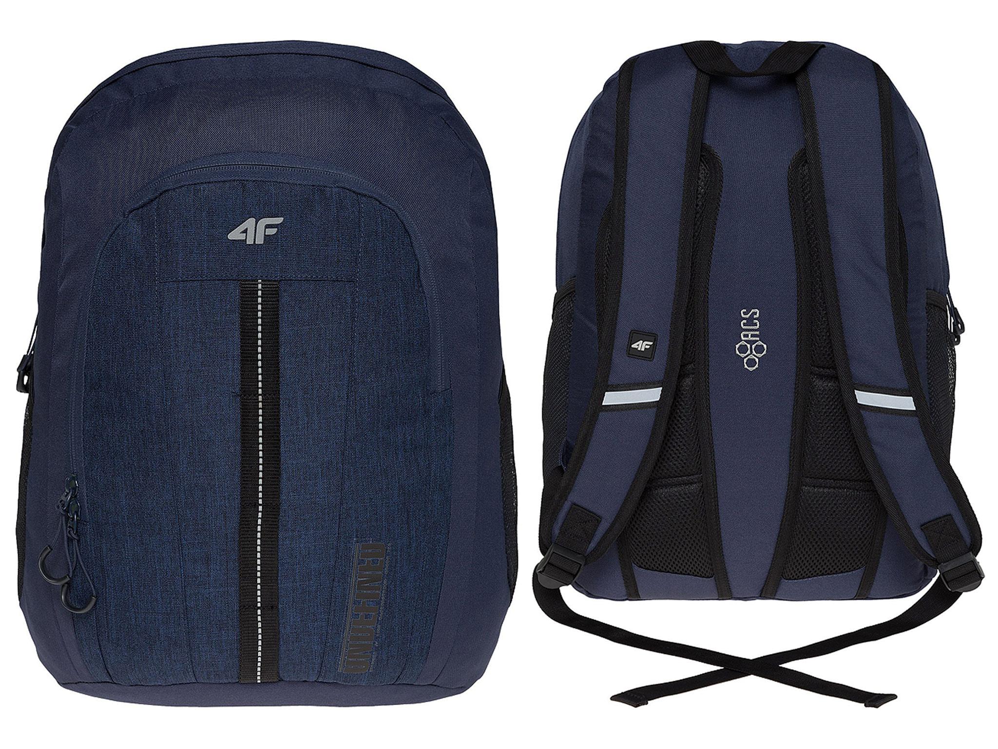 4F Plecak Miejski Sportowy Szkolny PCU011 - 30L
