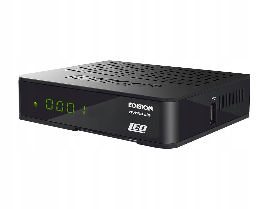 D465X TUNER Edision 01-07-0013 ODBIORNIK DVB-T/C
