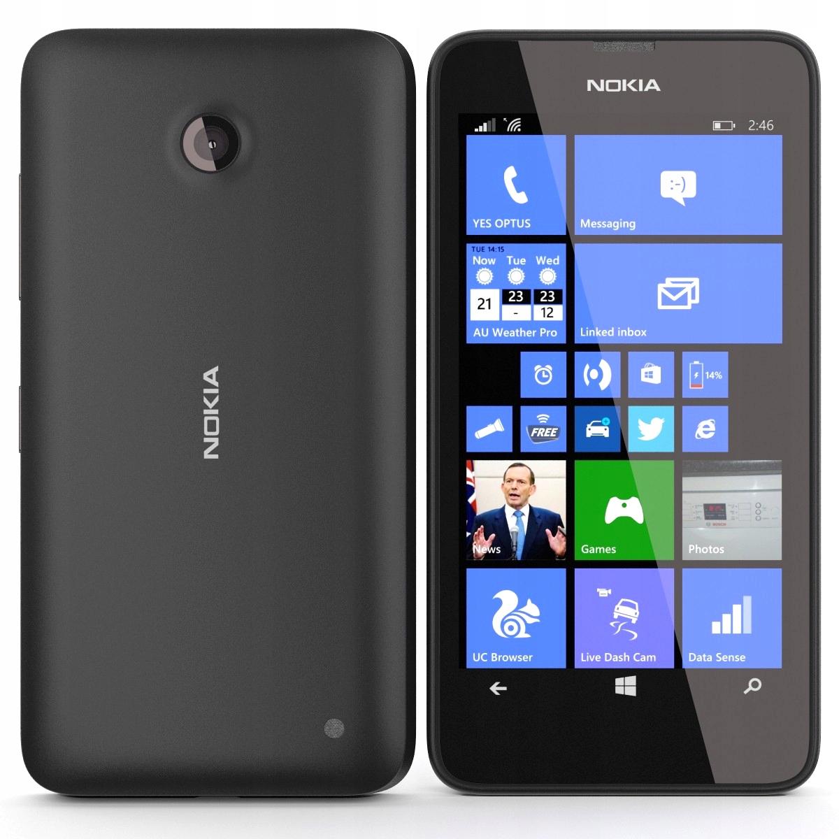 Telefon Nokia Lumia 636 RM-974 WINDOWS +ŁADOWARKA