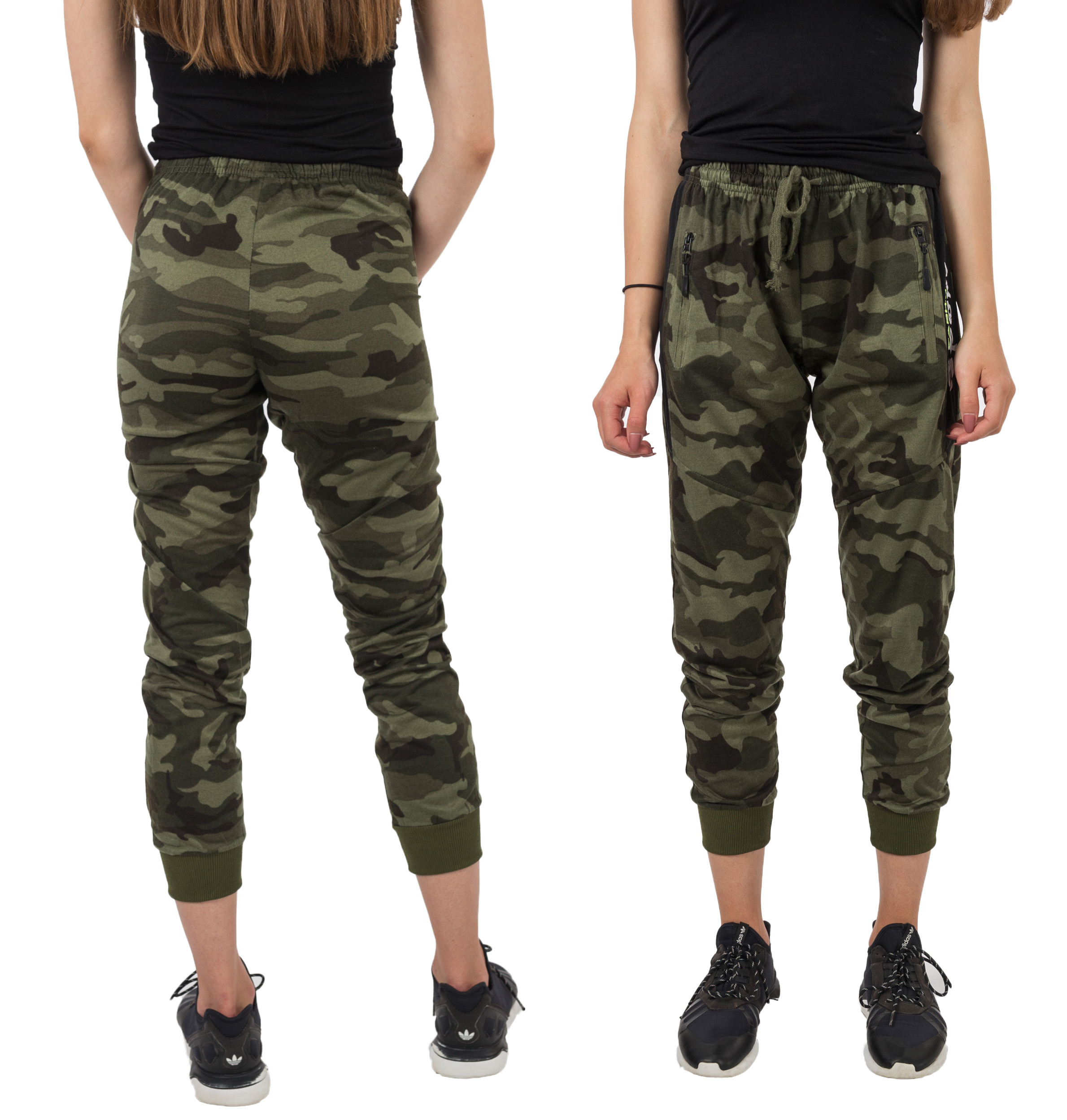 75f5fab4 Spodnie Dresowe Moro Damskie Dresy Army 902-2 r M - 7338164397 ...