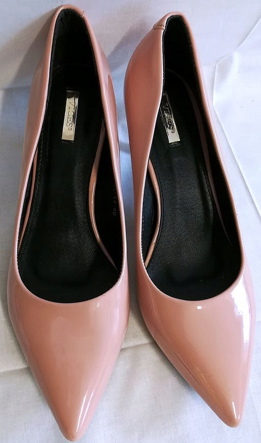 Buty damskie VICES czółenka różowe 40