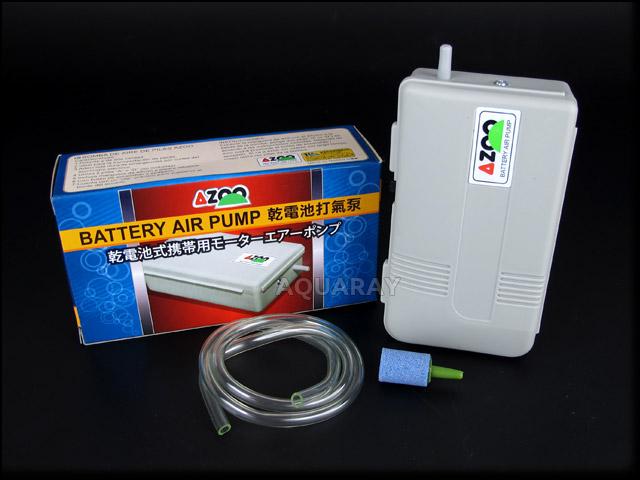 AZOO BATTERY AIR PUMP - napowietrzacz na baterie