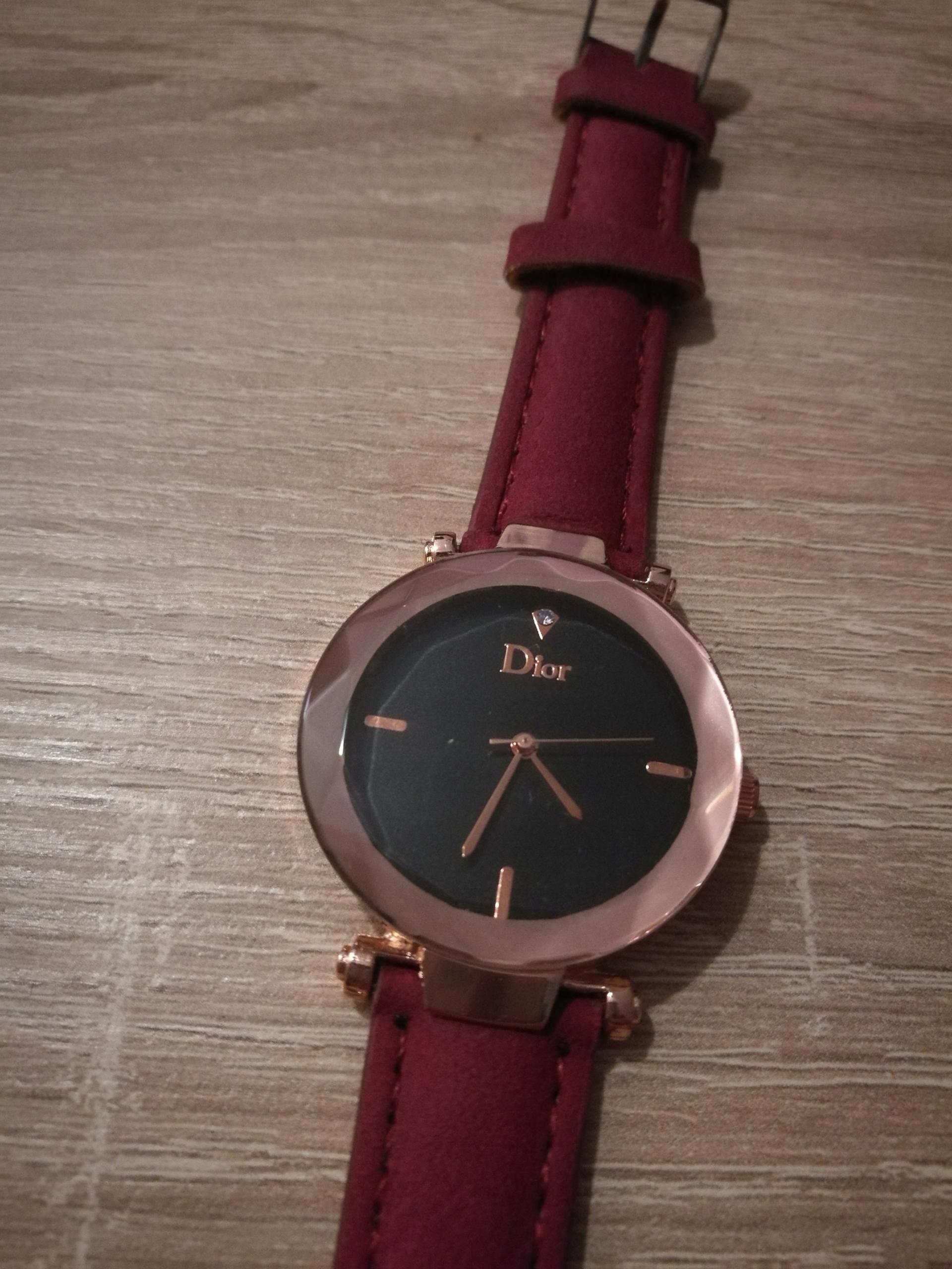 Zegarek Damski Dior Czerwień