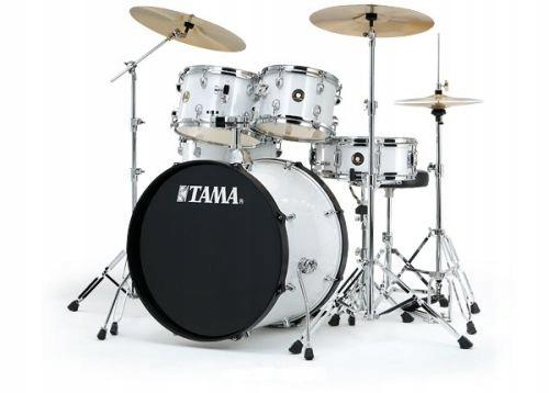 TAMA Rhythm Mate Fusion20 Set (WH) + Meinl BCS
