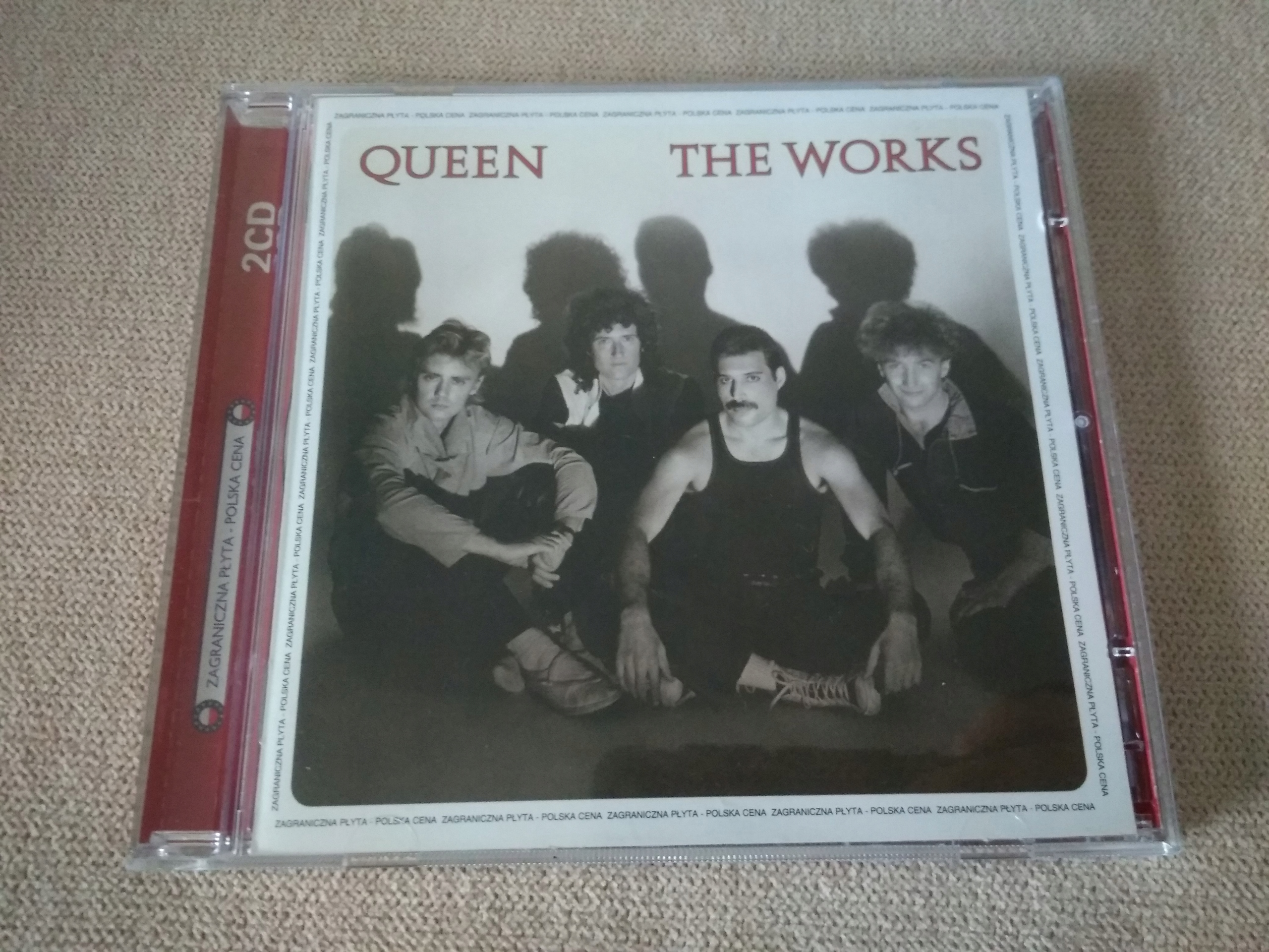 QUEEN THE WORKS CD BCM !