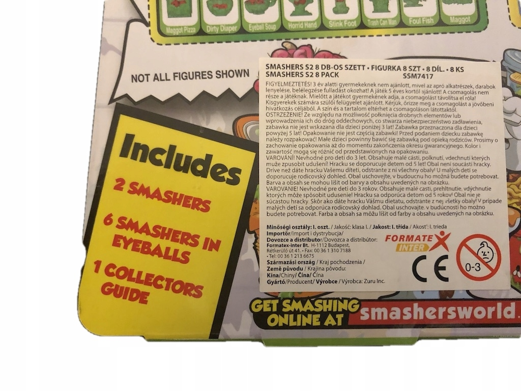 SMASHERS GROSS 8 PACK SERIES 2 - 7872292233 - oficjalne