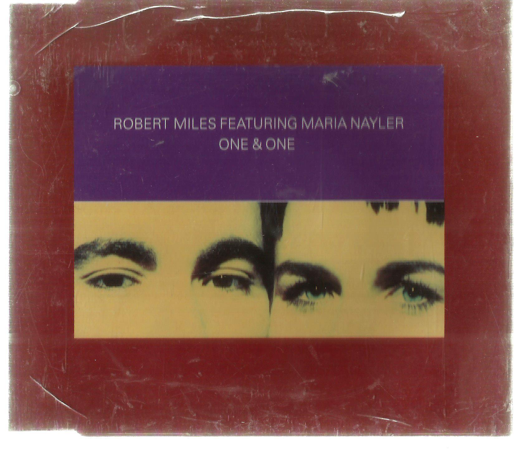 ROBERT MILES ONE & ONE CD1 SINGIEL 1996