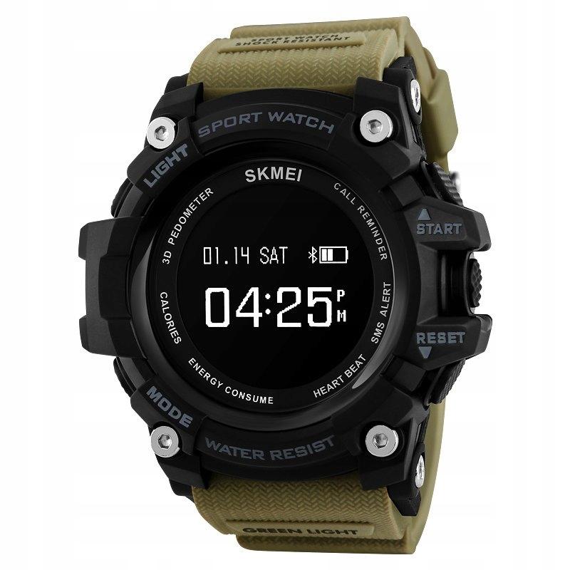 Sportowy Zegarek męski elektroniczny BLUETOOTH
