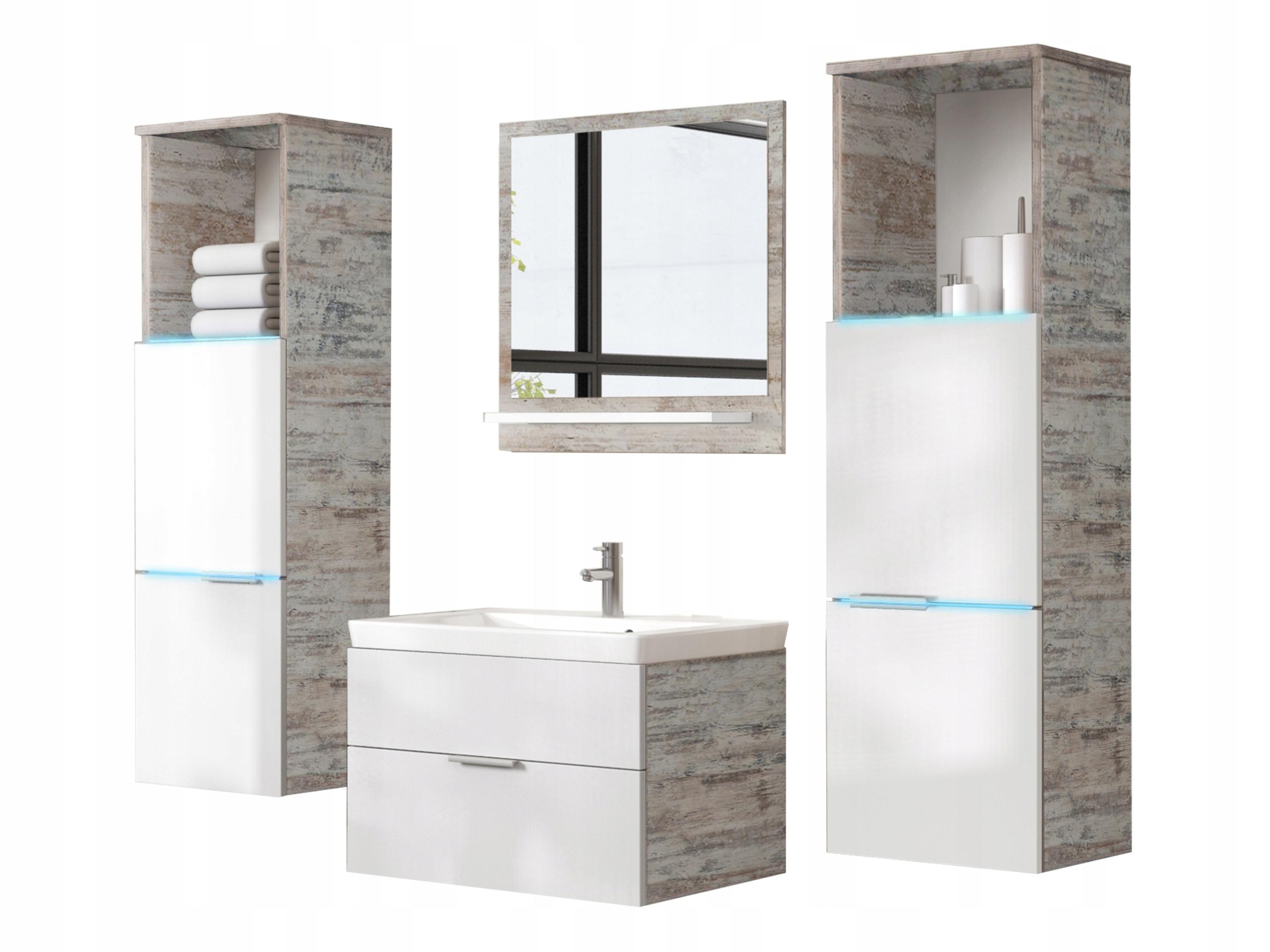 Agata Meble łazienkowe łazienka Meble Z Led Rgb 7622987845