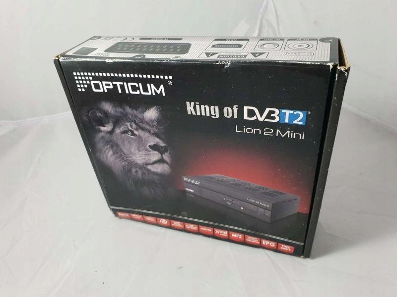 DEKODER KING OD DVBT2 LION 2 MINI KOMPLET