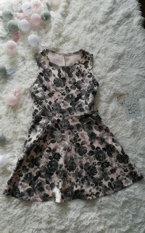 Włoska sukienka wyprzedaż szafy