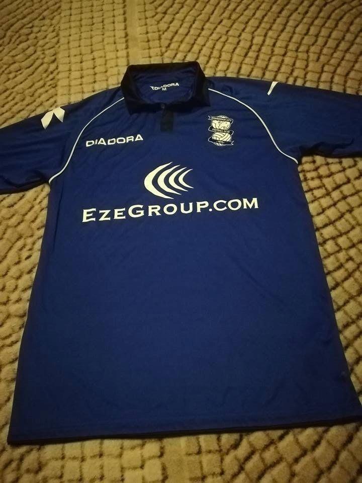 Koszulka Piłkarska Birmingham City 12/13 Diadora M