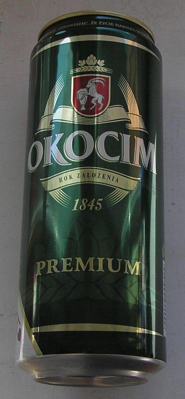 PUSZKA PIWO OKOCIM PREMIUM GRAJ W OKO 2001
