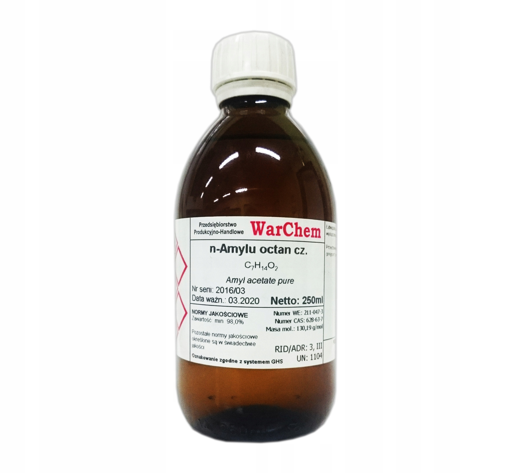 OCTAN AMYLU - 250ml WARCHEM [31855]