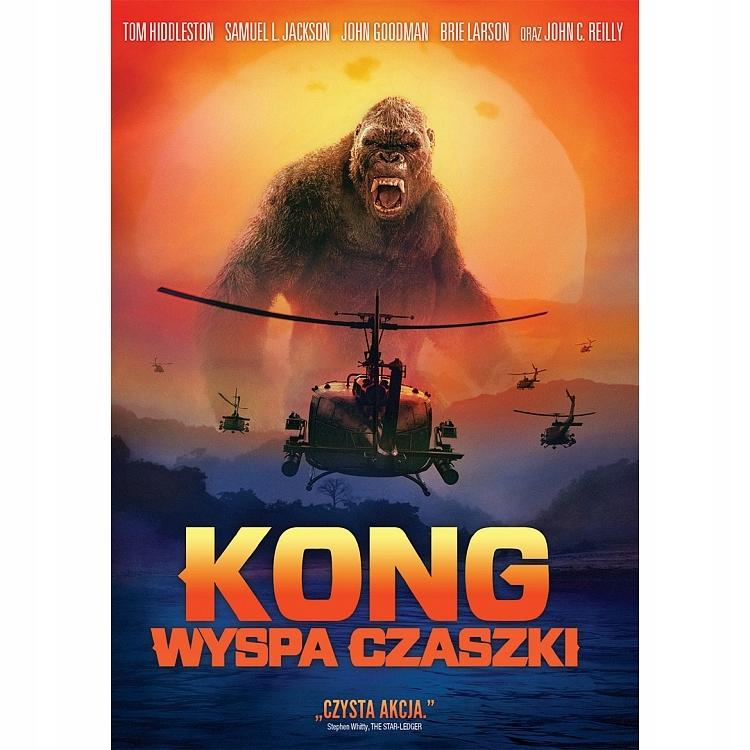 Kong: Wyspa Czaszki 2017 DVD