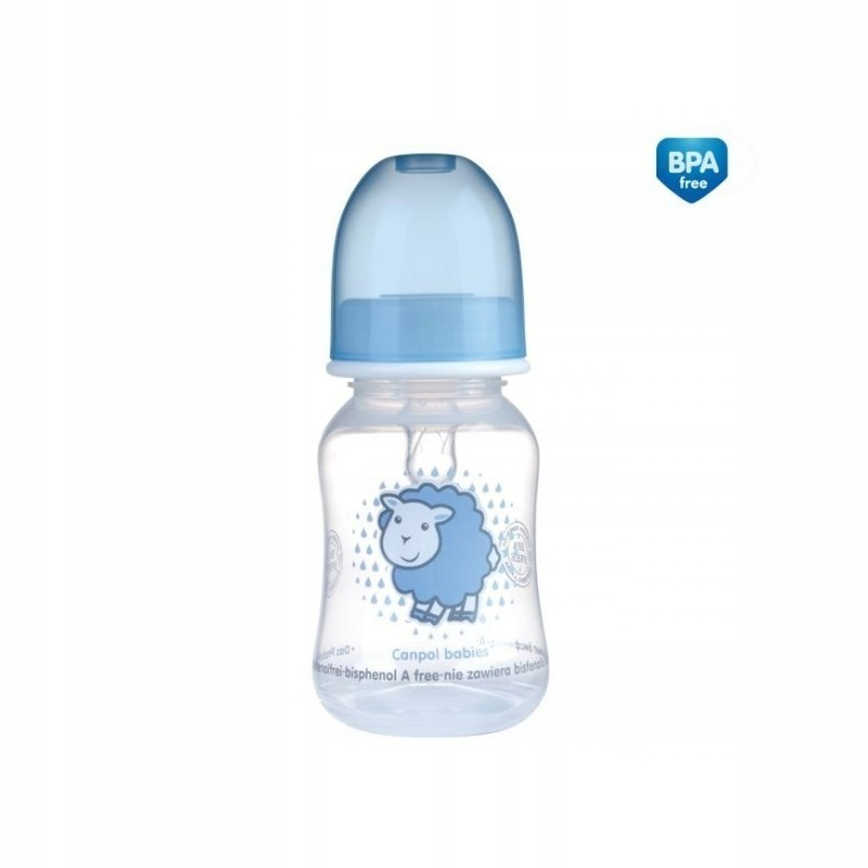 BUTELKA 120ML.DEKOROWANA BPA