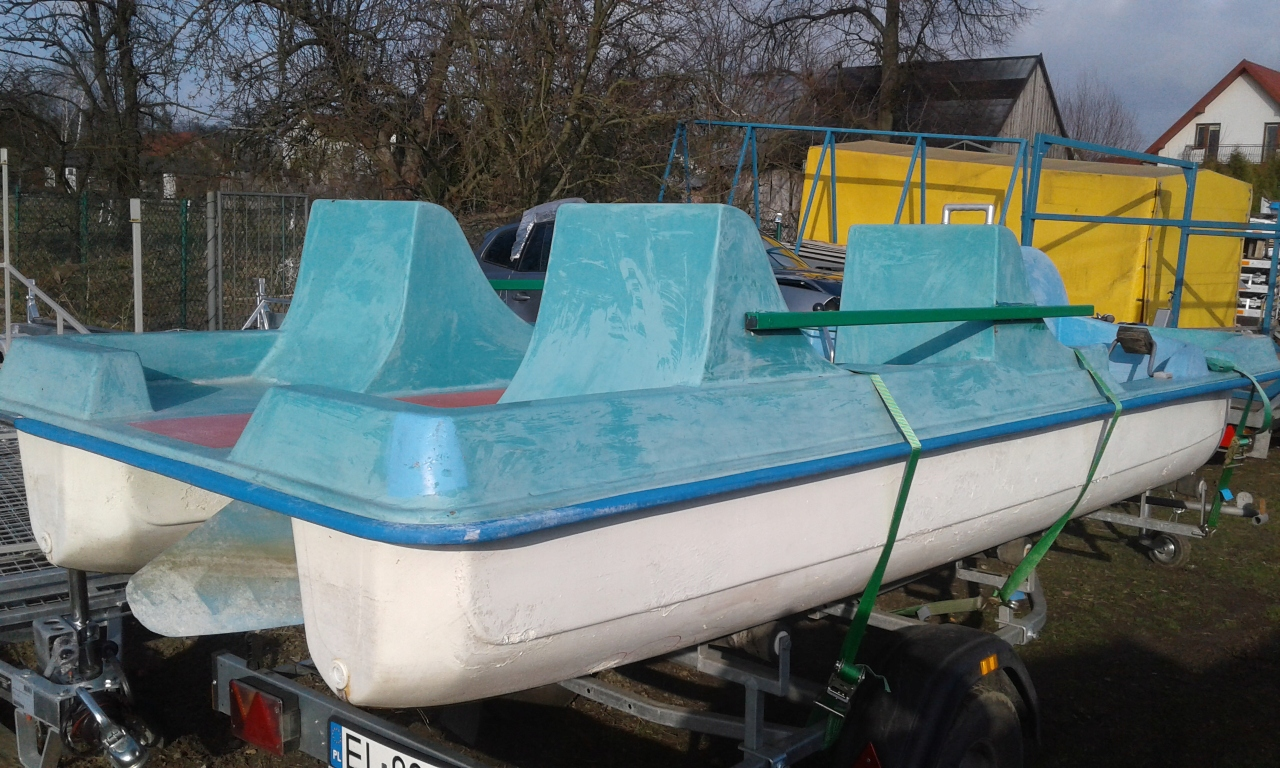 Rower wodny 4 osobowy używany