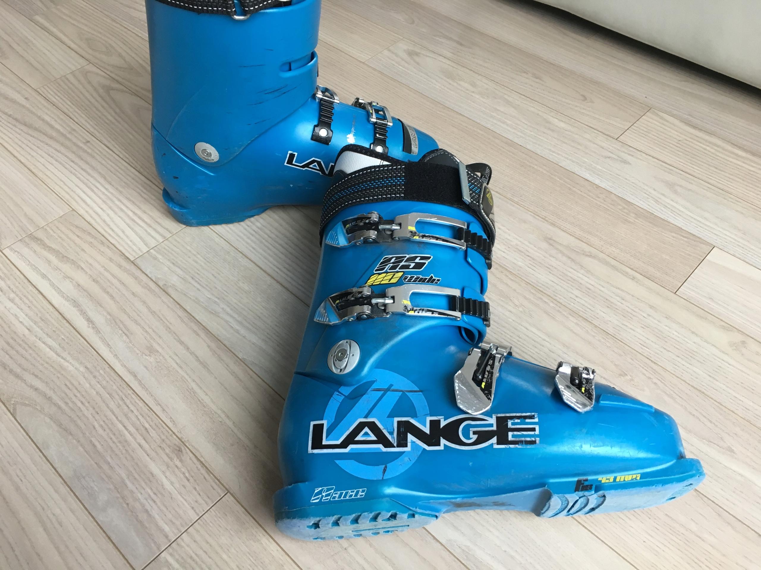 Buty LANGE RS 110 WIDE RACE 28,5 EU 44