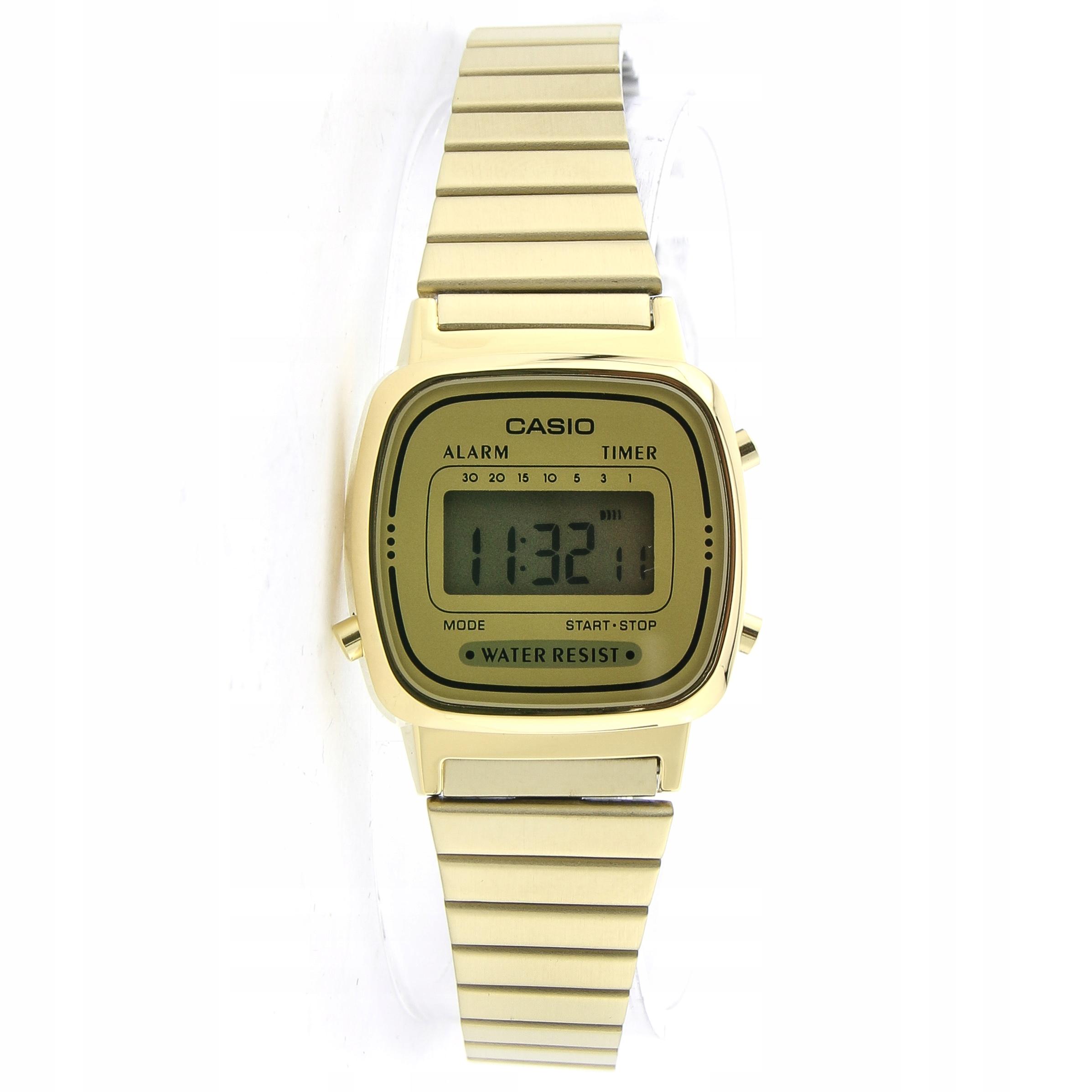 Zegarek CASIO LA670WEGA-9EF datownik stoper