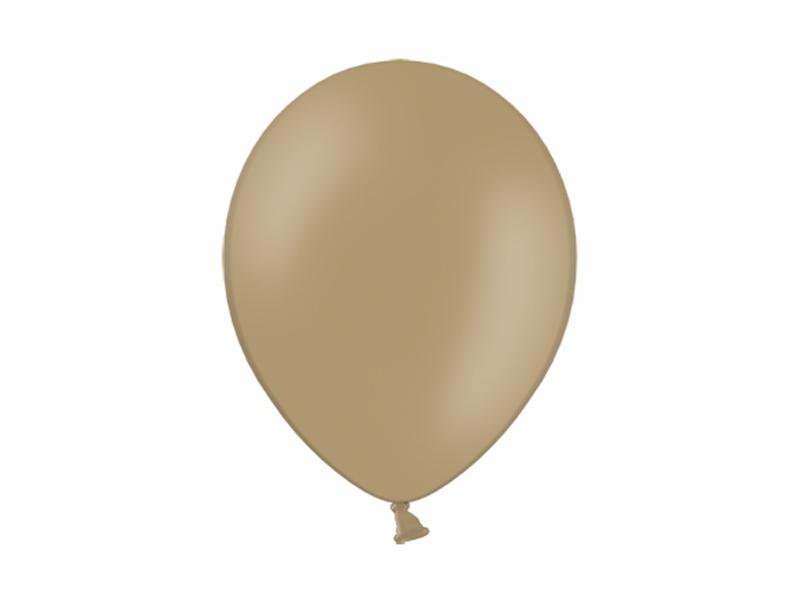 Balony lateksowe 10cali 150 almond migdał 100szt