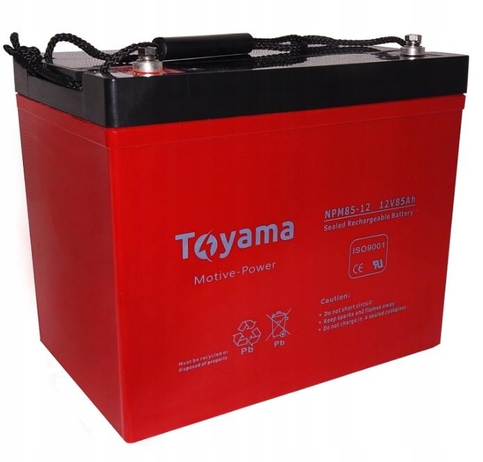 Akumulator żel AGM Toyama 85Ah 12 V Deep Cycle