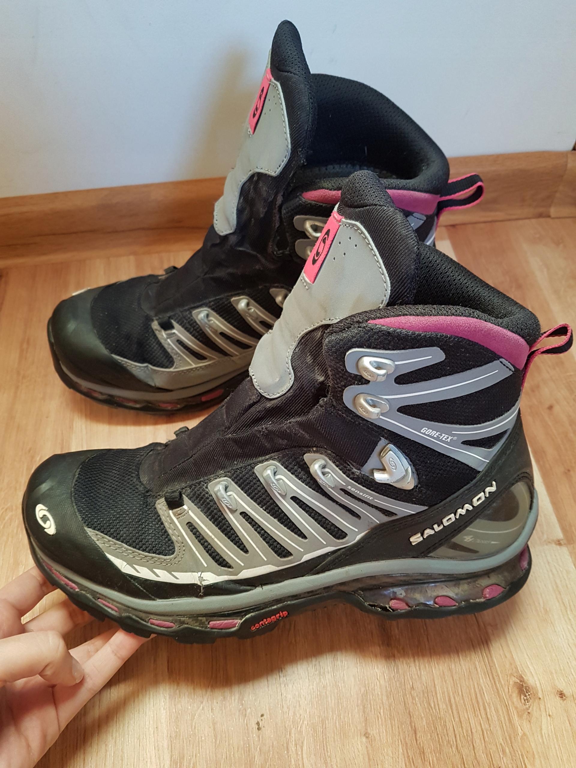 SALOMON COSMIC 4D GTX buty trekkingowe podejściowe