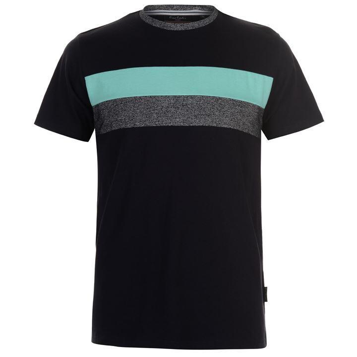 Pierre Cardin Cardin Block Stripe, koszulka męska,