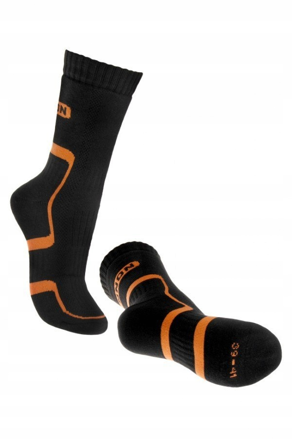 Skarpety trekkingowe Bennon Black-Orange - D21001