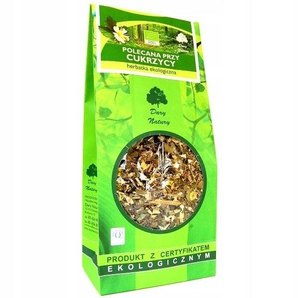 Herbatka ekologiczna przy cukrzycy Dary Natury 150