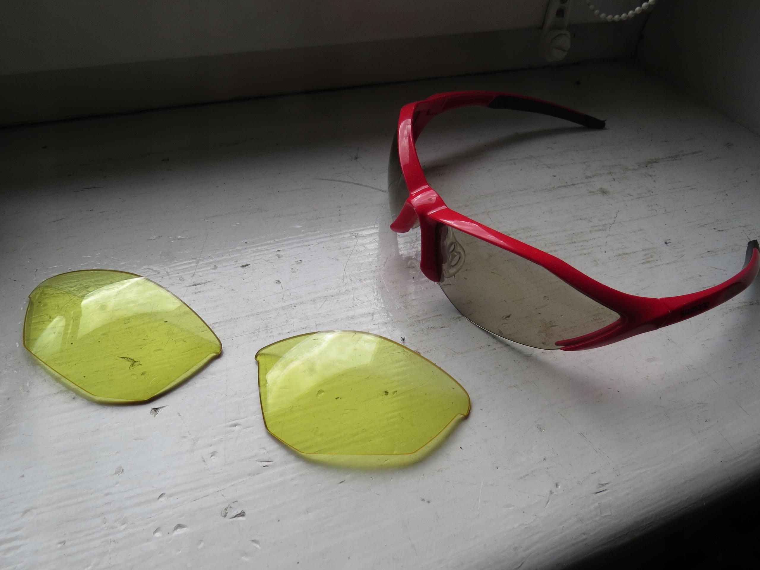 Okulary rowerowe Shimano
