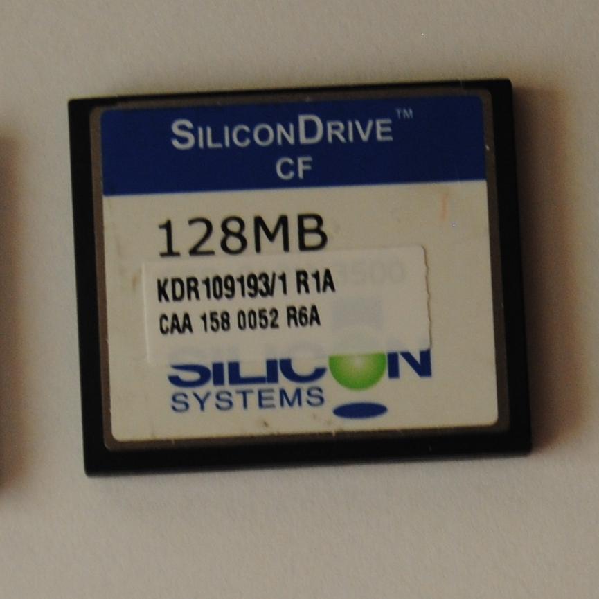 Karta Cf 128mb Silicondrive 7374357966 Oficjalne Archiwum Allegro