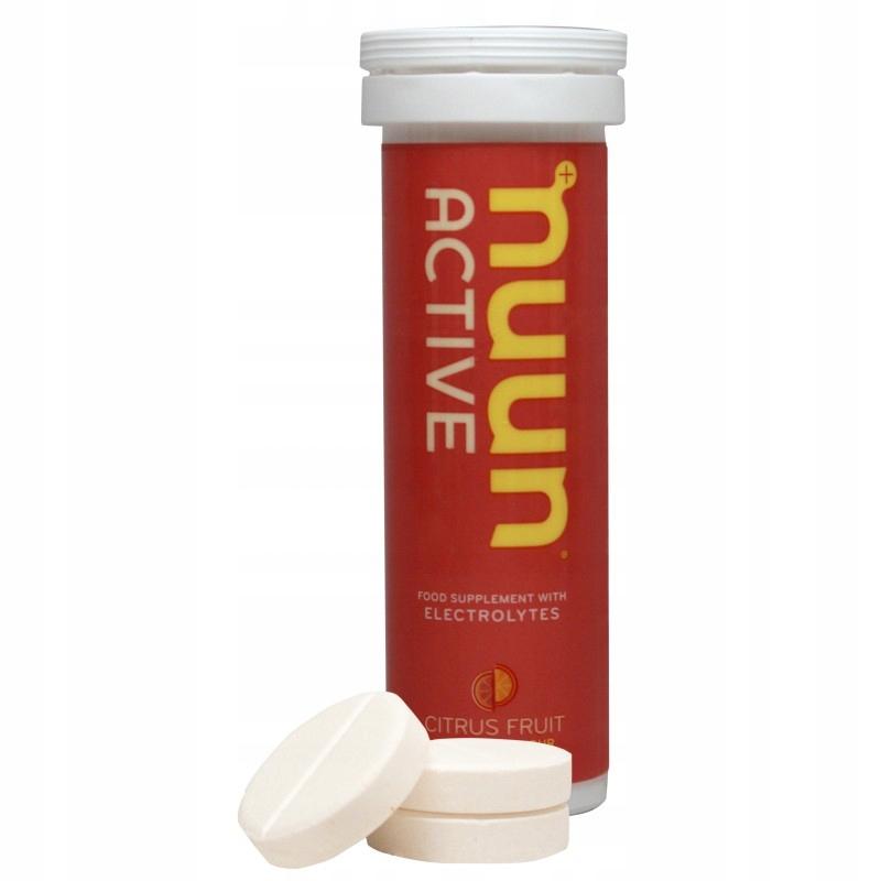 Nuun Active napój elektrolity, minerały - cytrusow