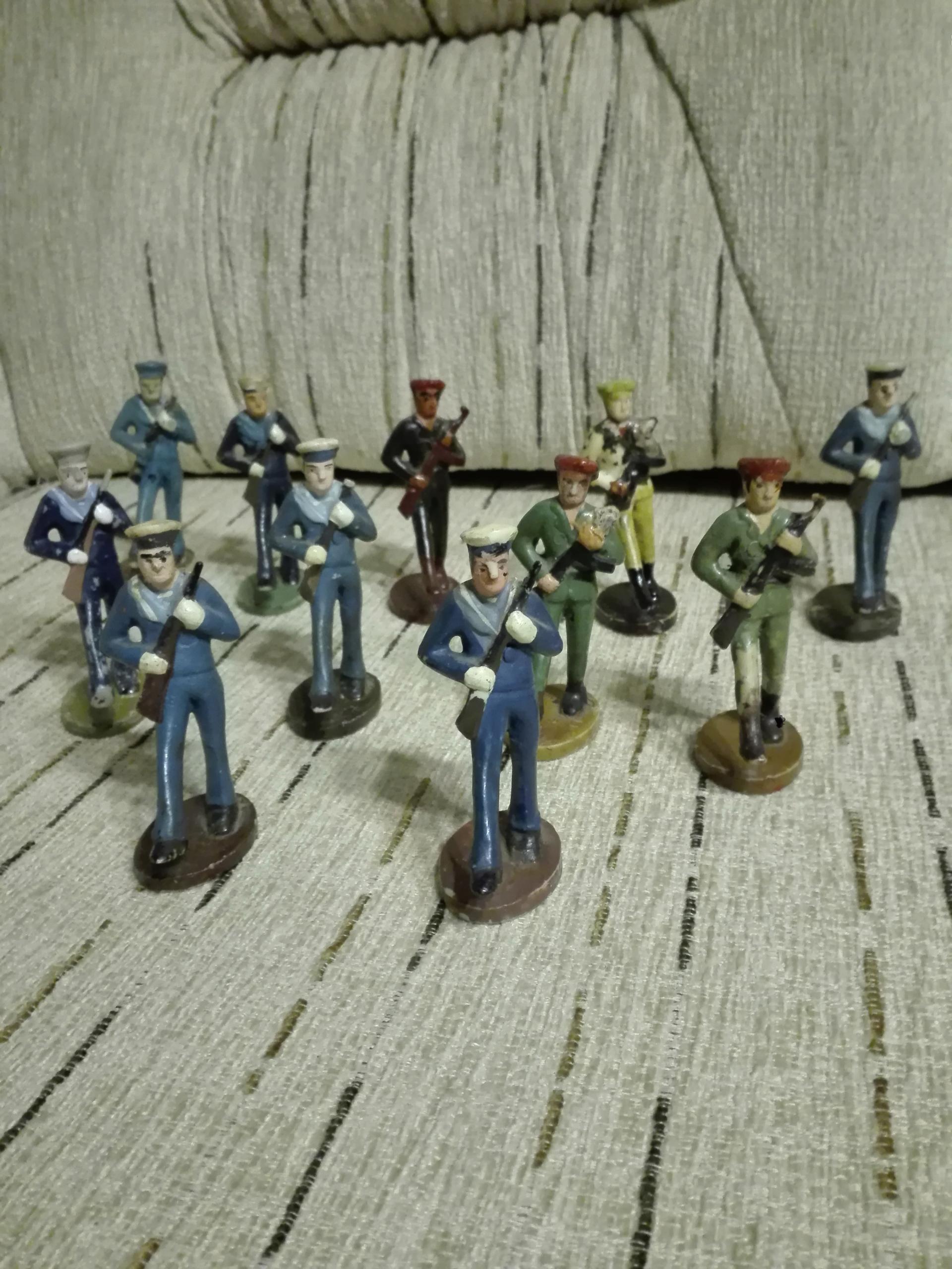 Żołnierzyki PRL marynarze