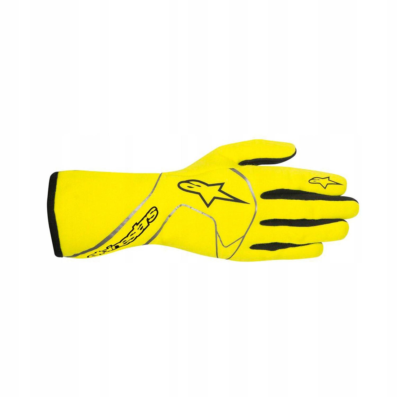 Rękawice Alpinestars TECH 1 RACE żółty FIA XL!